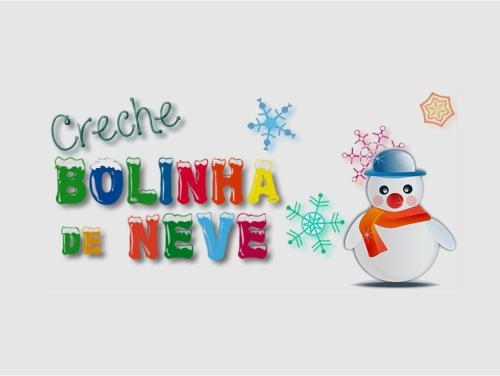 Logo de Creche Bolinha de Neve